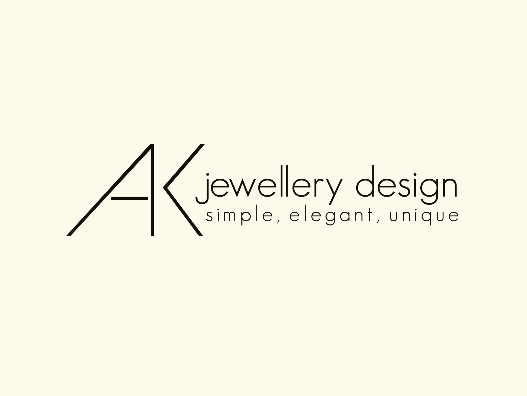 AK Jewellery Logo - Collective.Digital Client
