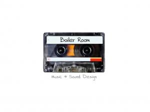 Boiler Room Music and Sound Design cassette tape logo
