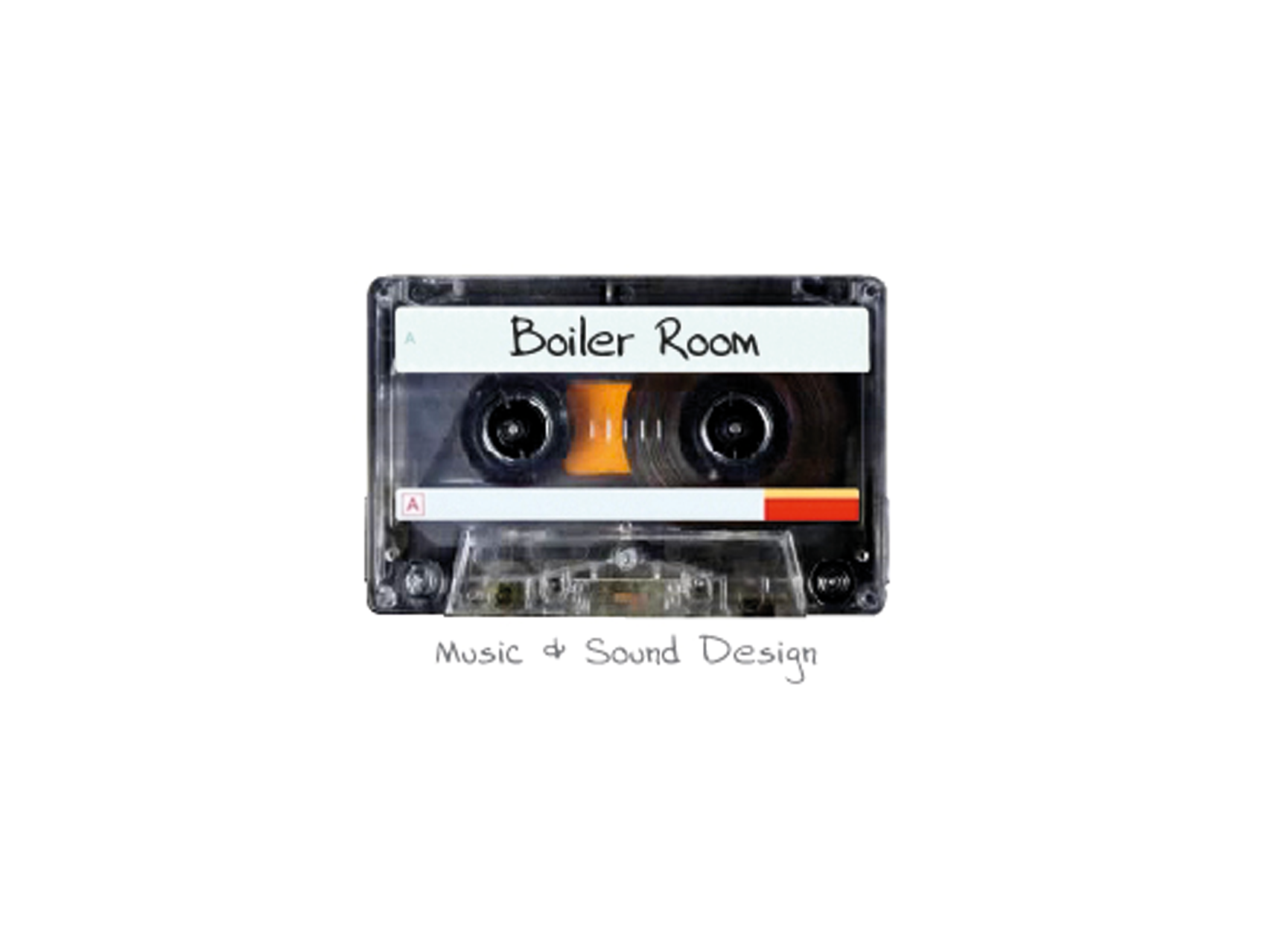 Boiler Room Music and Sound Design cassette tape logo