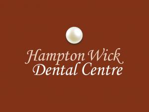 Hampton Wick Dental Centre pearl logo design