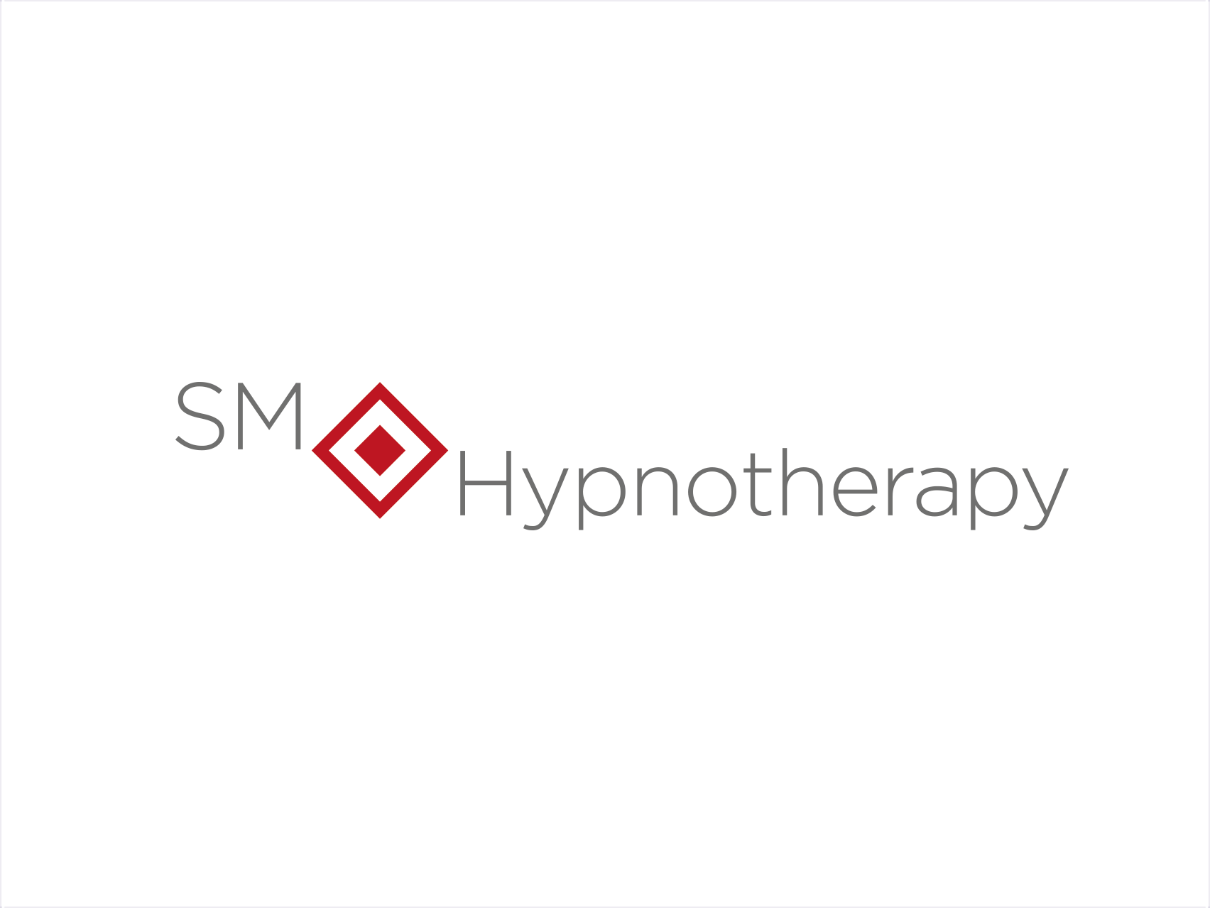 SM Hypnotherapy logo design