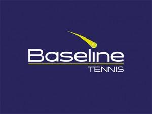 baseline tennis logo