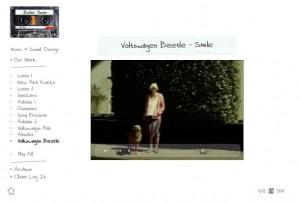 Boiler Music sound design website
