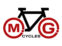 MG Cycles logo by collective