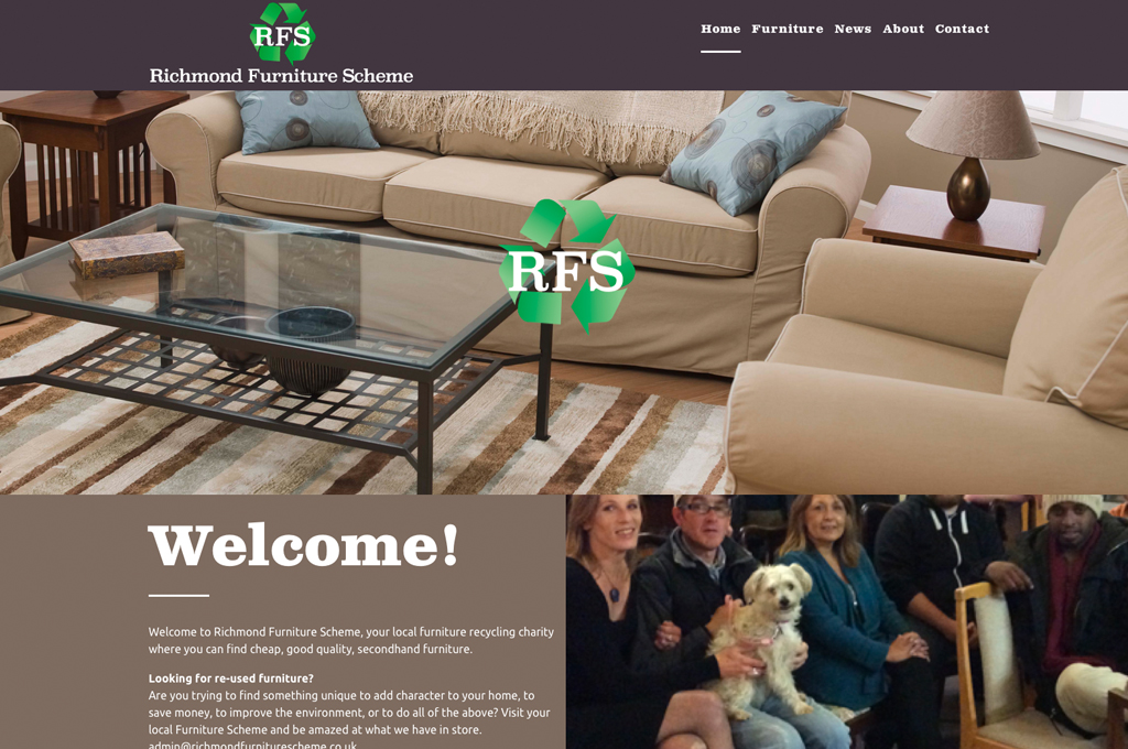 RFS website design and build by collective digital