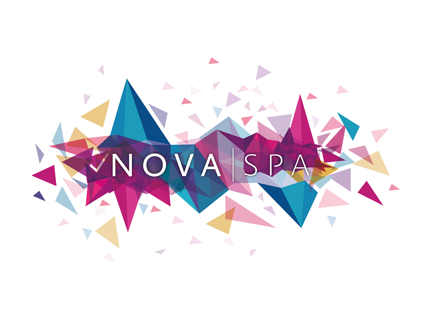 Nova spa logo design by collective