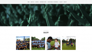 Full contact events website design and build by collective digital