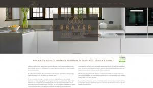 Brayer Website Redesign Homepage Screenshot