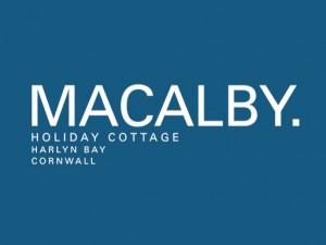 Macalby Holiday Cottage, Harlyn Bay Cornwall Logo