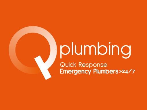 Q Plumbing Logo - Quick Response Emergency Plumbers> 24/7