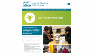 Universal Learning Offer webpage SCL