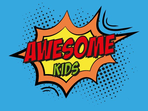 Awesome kids logo
