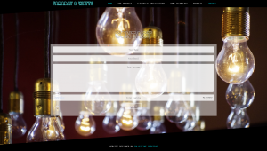 Contact page for Faraday & Watts website design