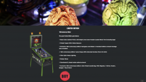 Limited edition from the heighway pinball website