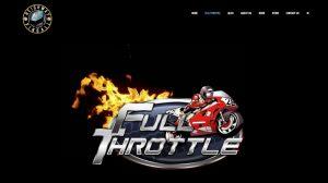 Full Throttle logo on Heighway Pinball website