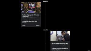 Heighway Pinball news posts page
