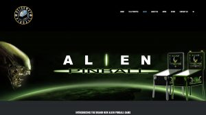 Alien page from the heighway pinball website