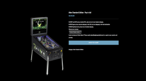 Heighway Pinball Product Page - Alien Standard Edition Pinball Machine