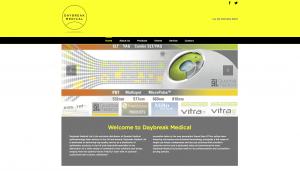 Daybreak Medical website redesign