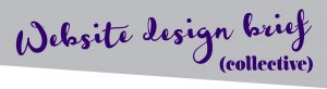 Website design brief collective