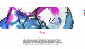 Feed page from feed sleep bond website