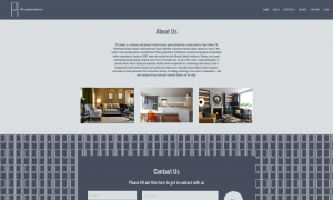 About Us Section of New Website Design for PH London