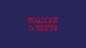 Landing page from Faraday and watts website design