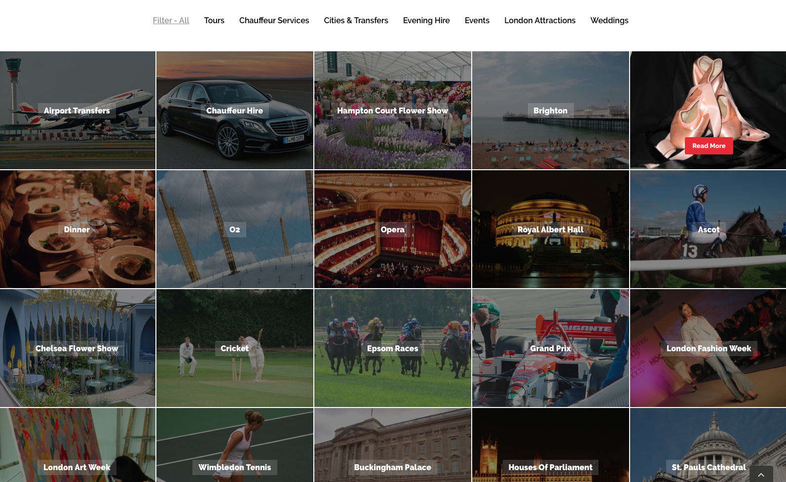 Cool pool cars website design