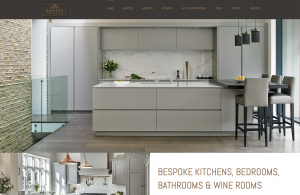 Home page from new Brayer website design