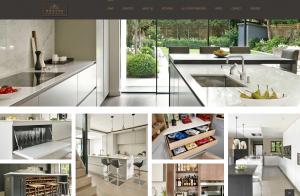 New Brayer Design website - homepage