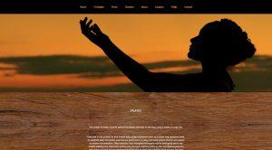 Pilates page screenshot from Ember Yoga website design