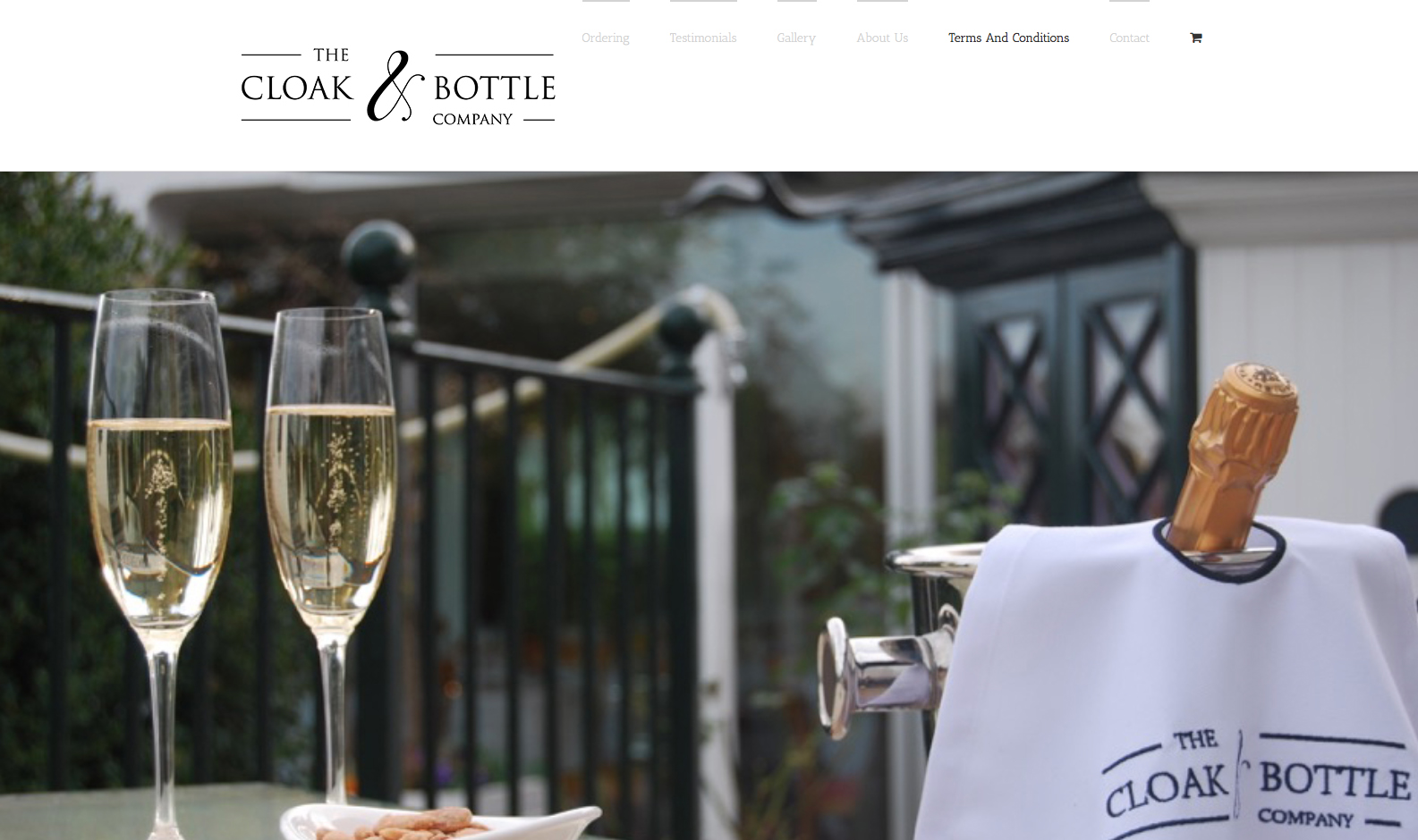 The Cloak And Bottle Company - one page